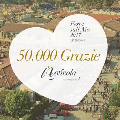 50.000 persone alla festa sull'aia