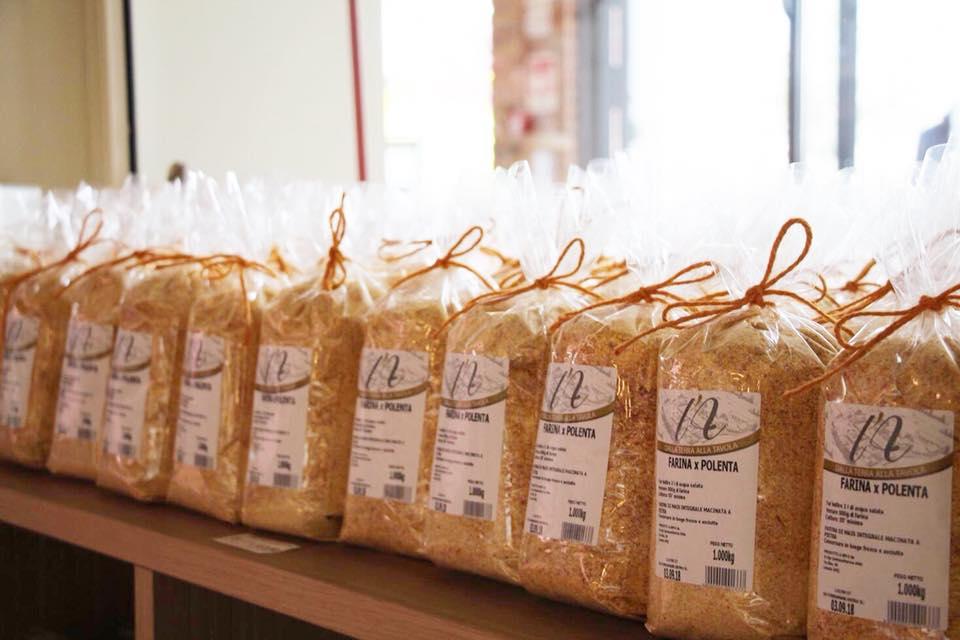 La farina di polenta realizzata da noi