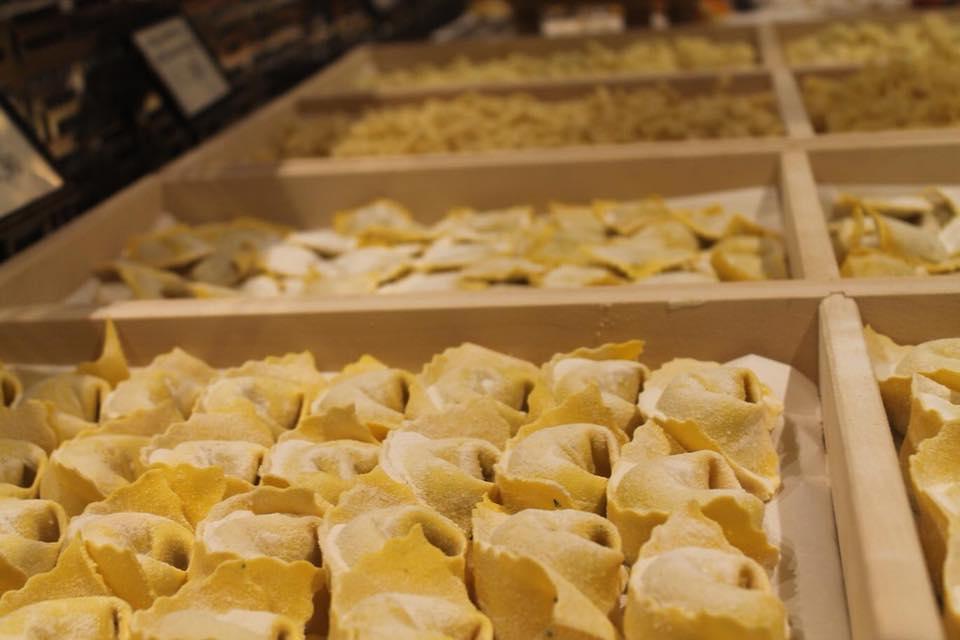 Ravioli di pasta fresca realizzati da noi