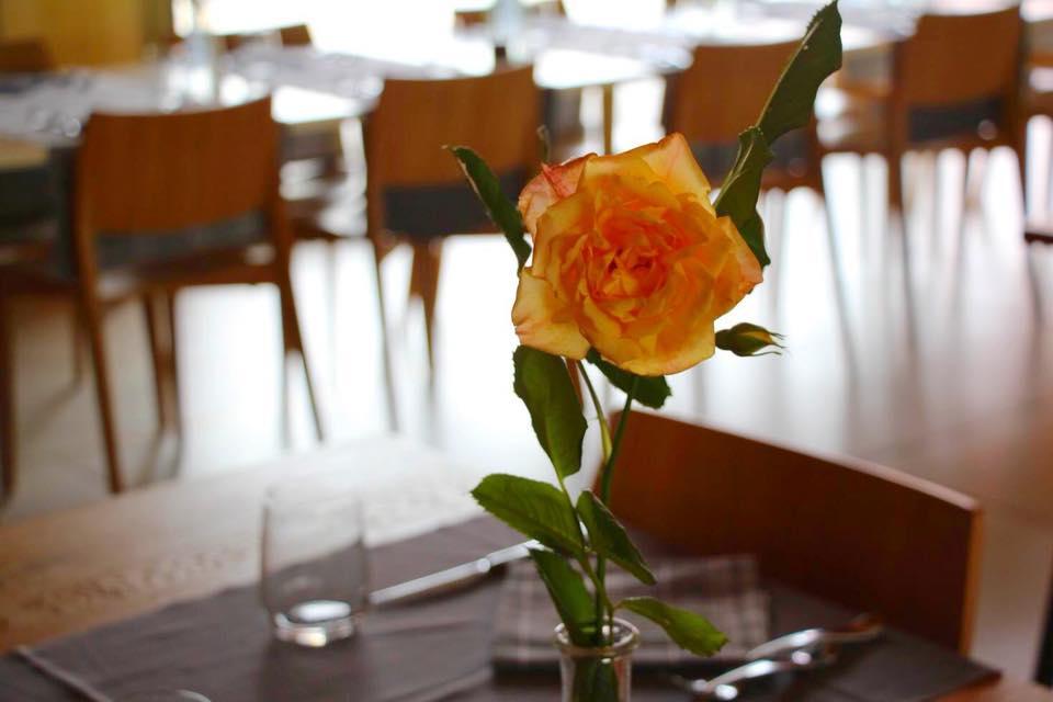 L'ambiente del nostro ristorante, un tocco di giallo